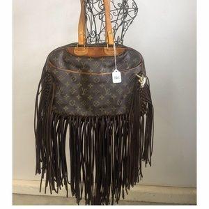 Louis Vuitton Fringe Monogram Vintage Boho Bags